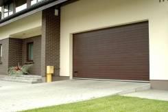 Гаражные секционные ворота, изготовление, установка, обслуживание