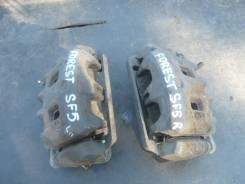 Суппорт тормозной. Subaru Forester, SF5 Двигатель EJ20