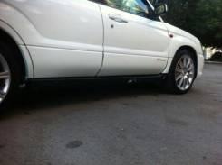 Порог пластиковый. Subaru Forester, SG