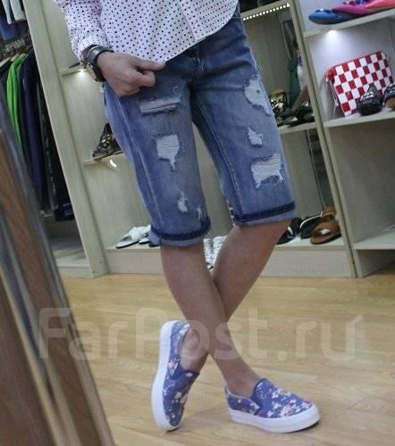 Шорты джинсовые. 42, 46