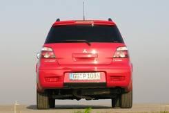 Глушитель. Mitsubishi Outlander Двигатель 2 0 MIVEC