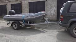 Skyboat. Год: 2012 год, длина 3,60м., двигатель подвесной, 15,00л.с., бензин