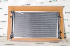 Радиатор охлаждения двигателя. Volkswagen Golf Volkswagen Caddy Volkswagen Jetta
