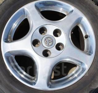 Toyota. 7.5x16, 5x114.30, ET50, ЦО 58,0мм.