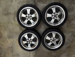 Японские колеса Work Termist TS 1 R17 +Pirelli P7000 215/45. 7.0x17 5x114.30 ET44 ЦО 71,3мм.