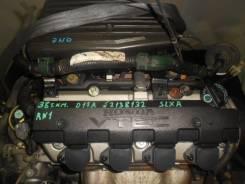 Контрактный б/у двигатель + КПП Honda D17B