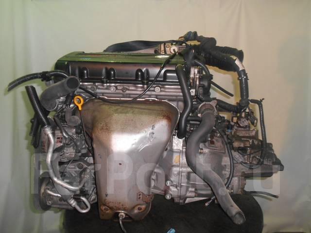 Контрактный б/у двигатель + КПП Nissan SR20-VE