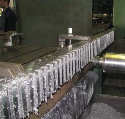 Изготовление зубчатых реек .
