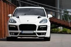 Обвес кузова аэродинамический. Porsche Cayenne