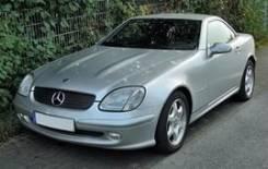 Бампер. Mercedes-Benz SLK-Class, R170 Двигатель 111