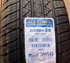 Maxtrek Sierra S6. Летние, 2015 год, без износа, 2 шт