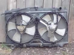 Радиатор охлаждения двигателя. Nissan Bluebird, EU14 Двигатели: SR18DI, SR18DE, SR18
