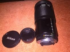Полнокадровый телевик Nikkor AF 70-210 f4-5.6 за 9000р. Для Nikon, диаметр фильтра 62 мм