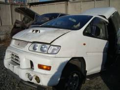 Дверь боковая. Mitsubishi Delica, PE8W Двигатель 4M40