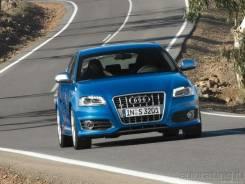 Зеркало заднего вида боковое. Audi A3, 8P Двигатель BGU