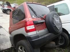 Дверь багажника. Mitsubishi Pajero iO, H67W, H77W, H76W, H66W, H61W, H62W, H72W, H71W Двигатели: 4G93, GDI, 4G94