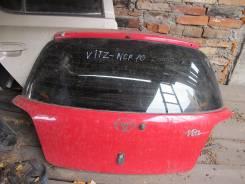 Дверь багажника. Toyota Vitz, NCP10 Двигатель 2NZFE