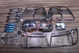 Накладка декоративная. Toyota Land Cruiser, FZJ100, HDJ100, HDJ100L, J100, UZJ100, UZJ100L, UZJ100W