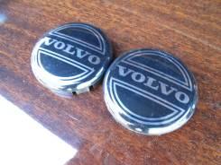 """Пара оригинальных центральных колпачков на литые диски «Volvo». Диаметр Диаметр: 16"""", 2 шт."""