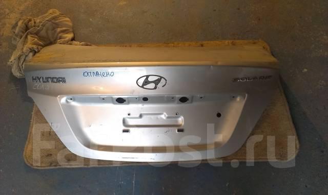hyundai accent крышка багажника