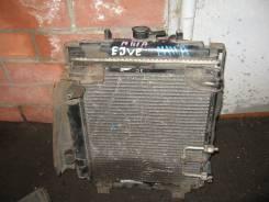 Радиатор охлаждения двигателя. Toyota Duet, M111A Двигатель EJVE