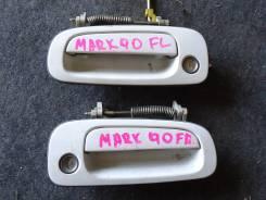 Ручка двери внешняя. Toyota Mark II, GX90 Двигатель 1GFE