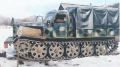 Артиллерийский Тягач Легкий (АТ-Л). 4 654куб. см.