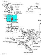 Фильтр топливный. Nissan: Serena, Cefiro, Bluebird Sylphy, X-Trail, Sunny, Skyline, Primera, Tino, Moco, Stagea Двигатели: QR20DE, QR25DE, VQ25DD, QG1...