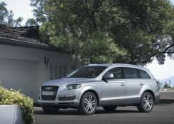 Стекло боковое. Audi Q7, 4L Двигатель BAR