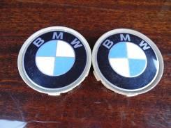 """Пара оригинальных центральных колпачков на литые диски «BMW». Диаметр Диаметр: 16"""", 2 шт."""