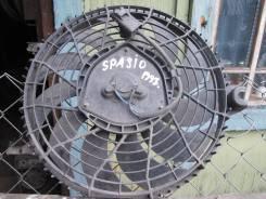 Вентилятор охлаждения радиатора. Toyota Corolla Spacio, AE111N Двигатель 4AFE