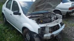 Порог пластиковый. Renault Logan