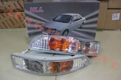 Туманка+поворот (комплект) на Toyota Carina (1992-96) Хрусталь.