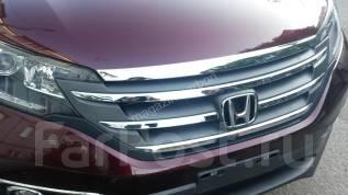 Дефлектор капота. Honda CR-V, RM4, RE5 Двигатели: K24Z7, R20A9