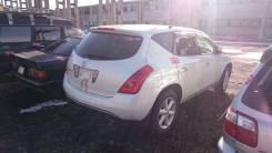 Задняя дверь в сборе Nissan Murano PNZ50 [Turboparts]. Nissan Murano, TZ50, PNZ50, PZ50 Двигатели: QR25DE, VQ35DE