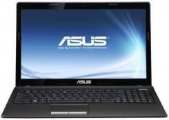 "Asus K53S. 15.6"", 2,3ГГц, ОЗУ 3072 Мб, диск 320 Гб, WiFi, Bluetooth, аккумулятор на 1 ч."