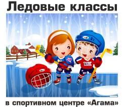 Ледовые классы - обучение детей хоккею