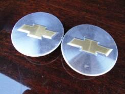 """Пара оригинальных центральных колпачков на литые диски «Chevrolet». Диаметр Диаметр: 16"""", 2 шт."""
