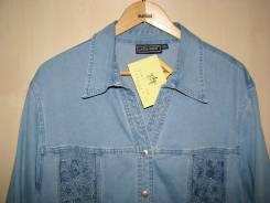 Рубашки джинсовые. 58