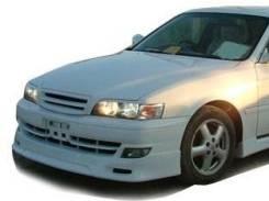 Накладка на бампер. Toyota Chaser, 100. Под заказ