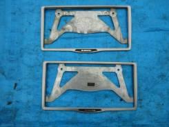 Рамка для крепления номера. Subaru Outback, BPE Двигатель EZ30