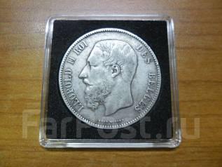 5 франков, 1870, Бельгия, серебро