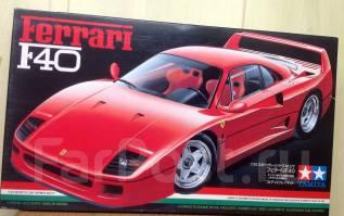 Редкая сборная модель Ferrari F40. +Подарок!