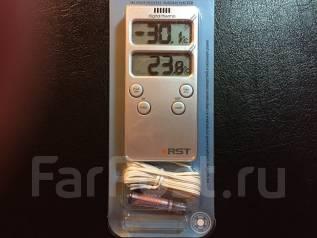 Термометр цифровой RST 02121 с проводным датчиком 2 температуры