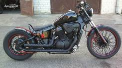 Honda Shadow. 600 куб. см., исправен, птс, без пробега
