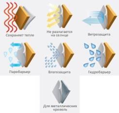 Пленки гидро-ветро-пароизоляционные.