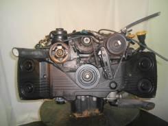 Контрактный б/у двигатель + КПП Subaru EJ20D