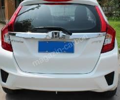 Накладка багажника. Honda Fit, GP6, GK4, GP5, GK3, GK5, GK6 Двигатели: LEB, L13B, L15B