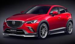 Обвес кузова аэродинамический. Mazda CX-3. Под заказ