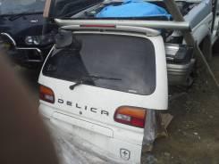 Дверь багажника. Mitsubishi Delica, PD3W, PD4V, PD4W, PD5V, PD5W, PD6W, PD8W, PF6W, PF8W, RE, PD, PF Двигатель 4M40